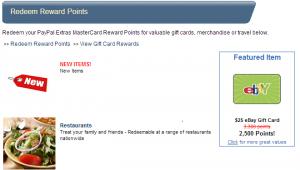 $25 ebay gift card for 2500pt