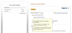 earn 2x on ebay shipping
