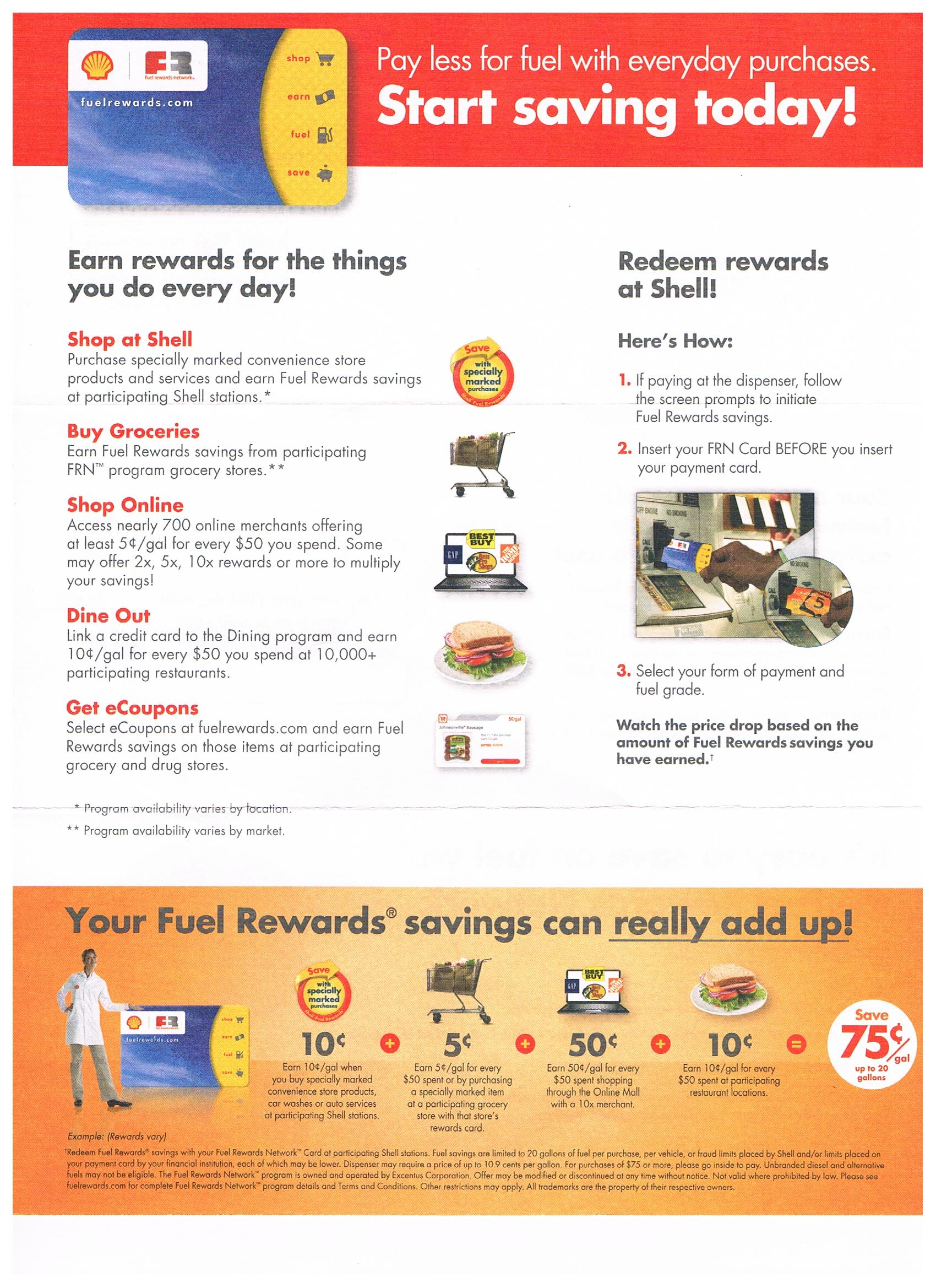 shell ways to save money when shopping