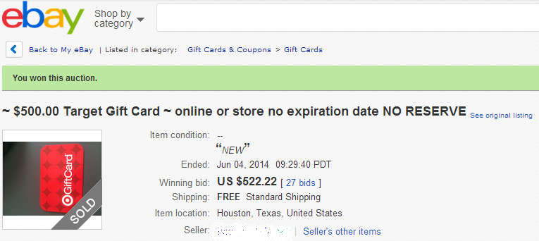Why do gift cards on ebay sell for more than face value - Ways to ...