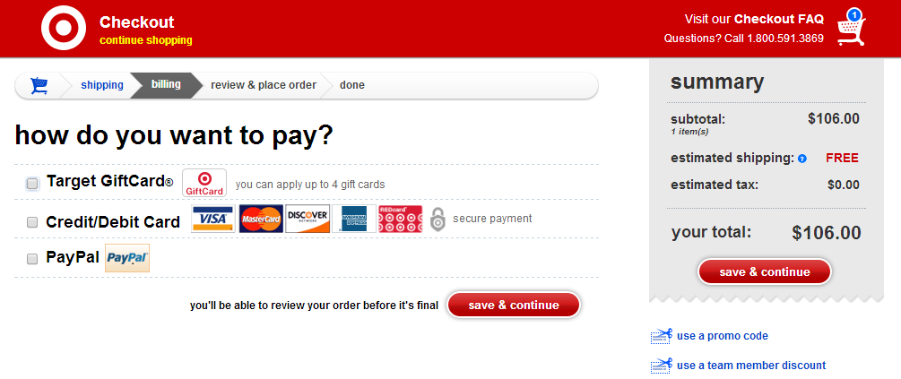 Target REDcard 5% Discount on Gift Cards - Ways to Save Money when ...