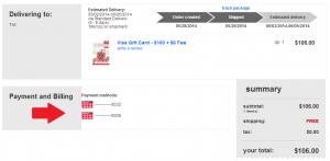 buy visa gc with target gc