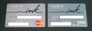 ink credit card from mastercard to visa