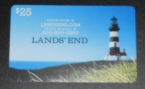 lands end gift card not accepted at sears kmart