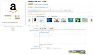 amazon e gift card email delivery