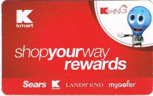 shop your way rewards card kmart version