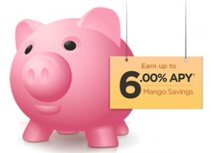 6 percent apy mango savings