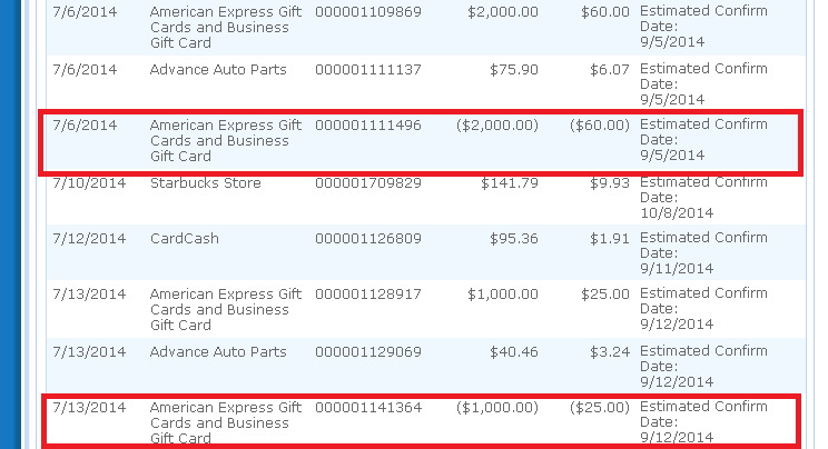 Use Coupon No Cash Back from BeFrugal on AmEx Gift Cards - Ways to ...