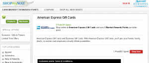 earn miles on amex gc