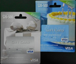 variable visa gift card at stop and shop