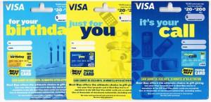 visa gift card at best buy