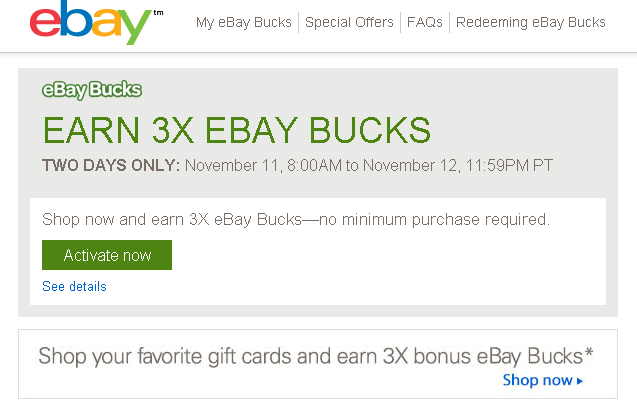 Staples Stores Sell eBay Gift Cards - Ways to Save Money when Shopping