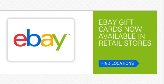 ebay gift card in store