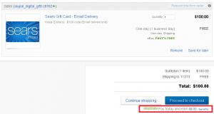 3x ebay bucks