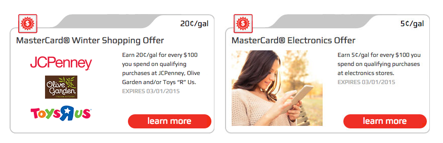 fnr mastercard offers thru mar 2015