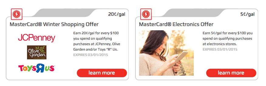 fnr mastercard offers thru mar 2015