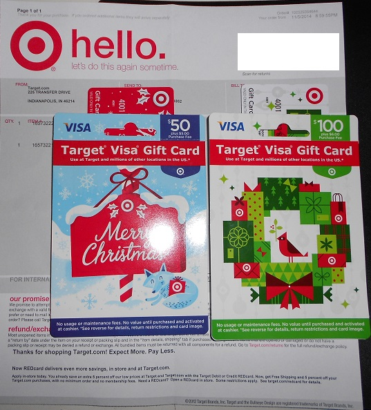 $100 Target MasterCard Gift Card for $95 - Ways to Save Money when ...