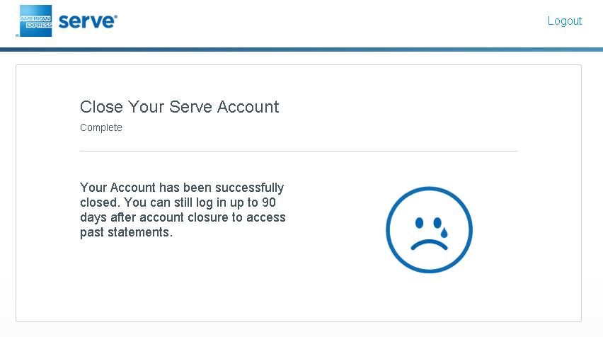 Serve closed