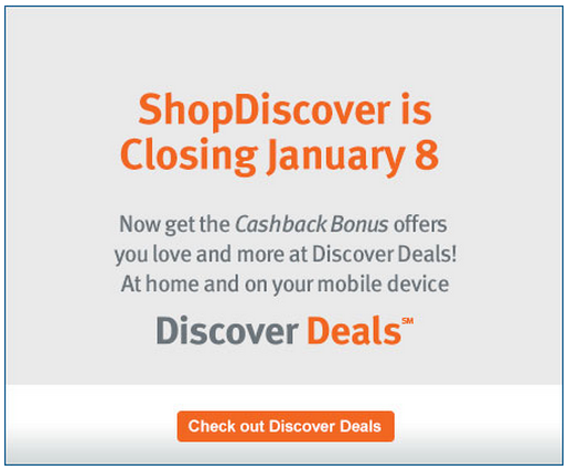 ShopDiscover now Discover Deals