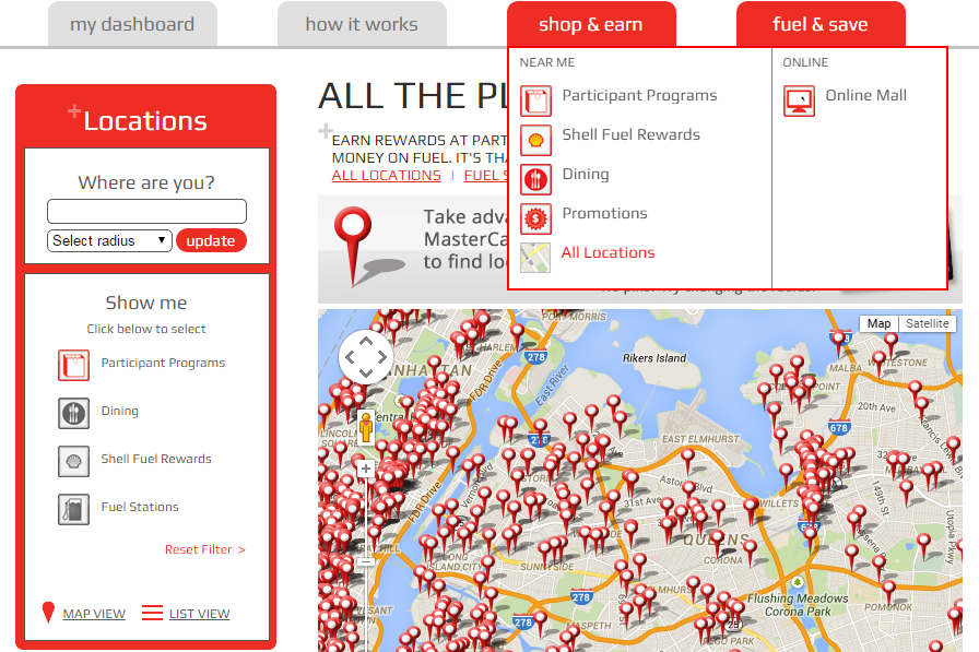 finding participating stores for frn promo