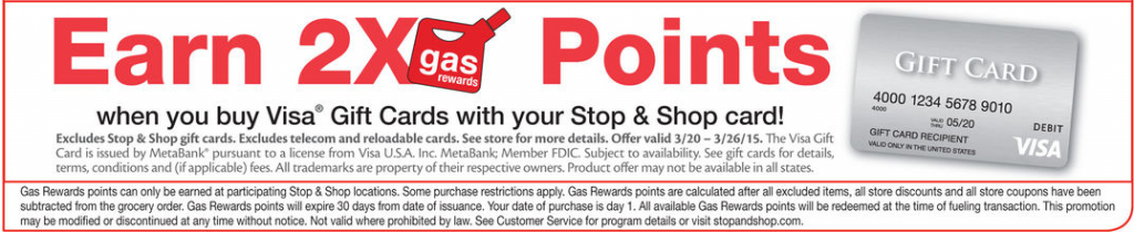 s&s gas reward promo on vgc