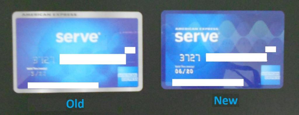amex serve card
