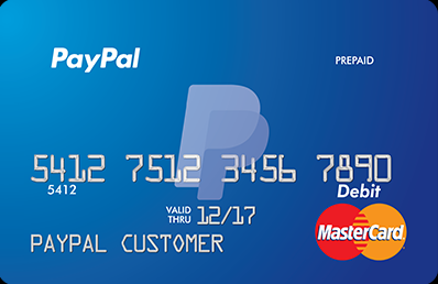 paypal prepaid mastercard new design