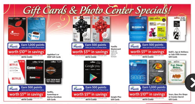 lots of gc deals at rite aid